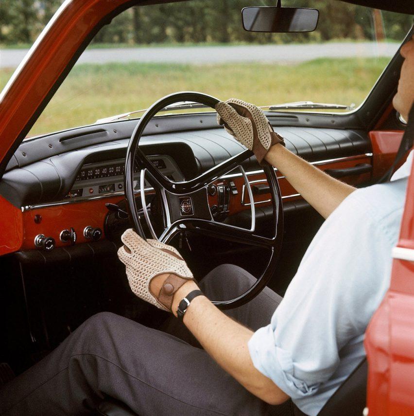 Volvo 121 Amazon interior