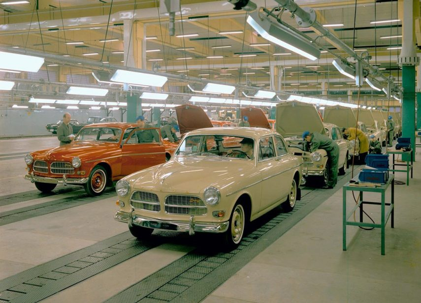 Volvo 121 fabricacion 2