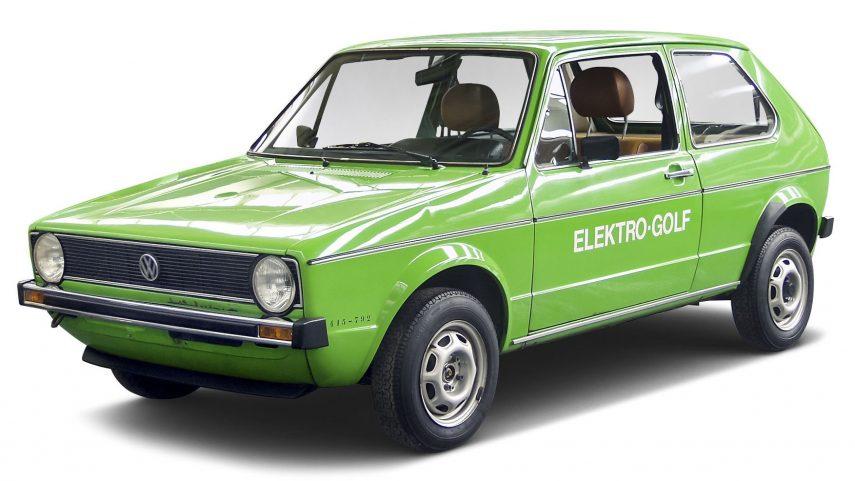 Vw Elektrogolf 1