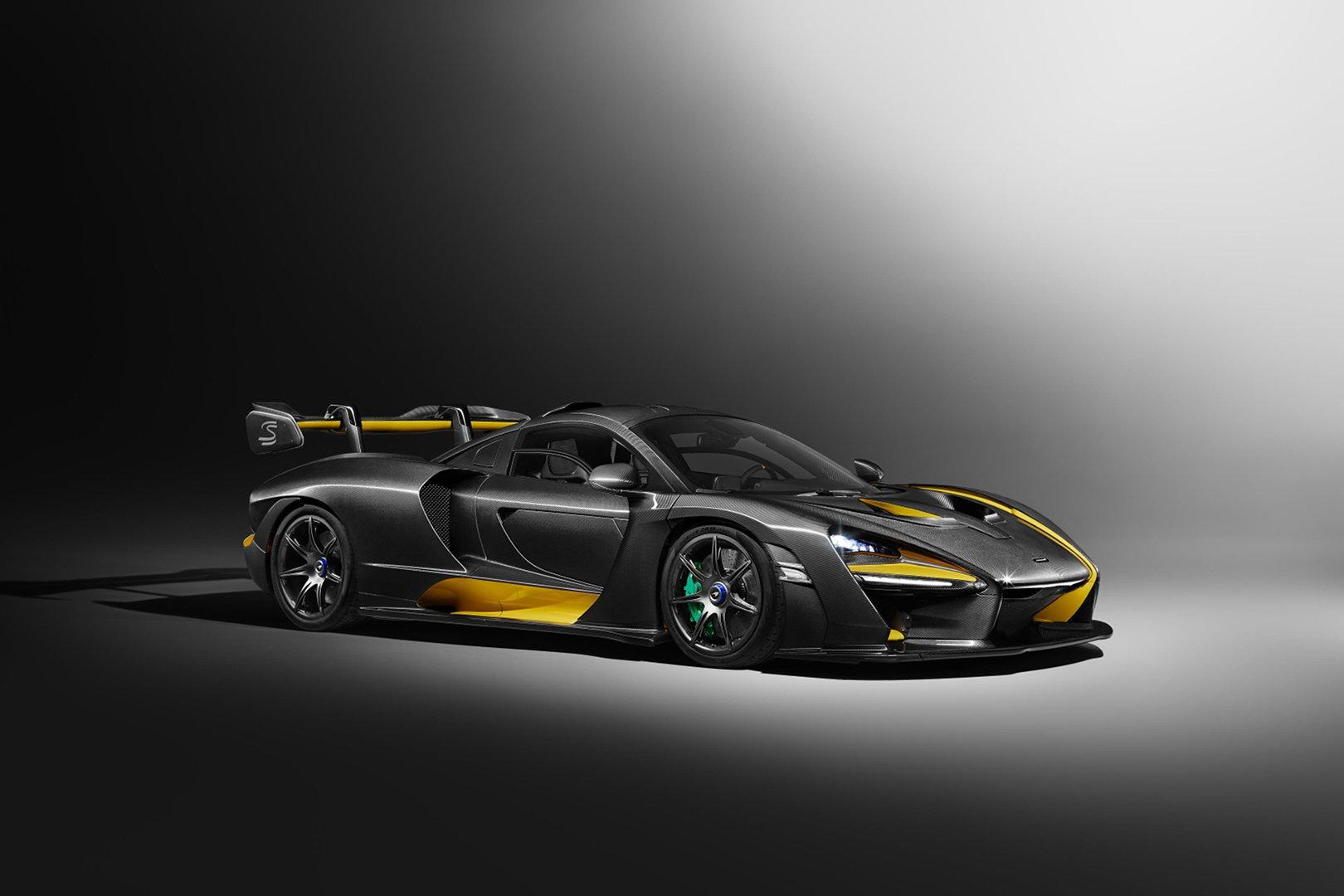 Nuevo McLaren Senna Carbon Theme
