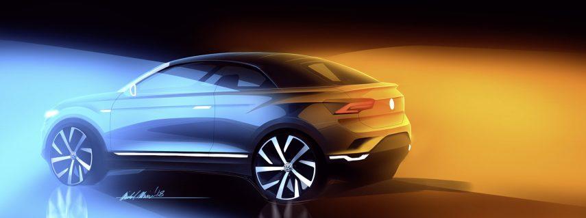 T-Roc Cabrio: el primer SUV descapotable de Volkswagen