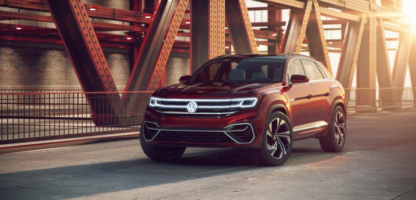 Volkswagen presenta el Atlas Cross Sport Concept en Nueva York