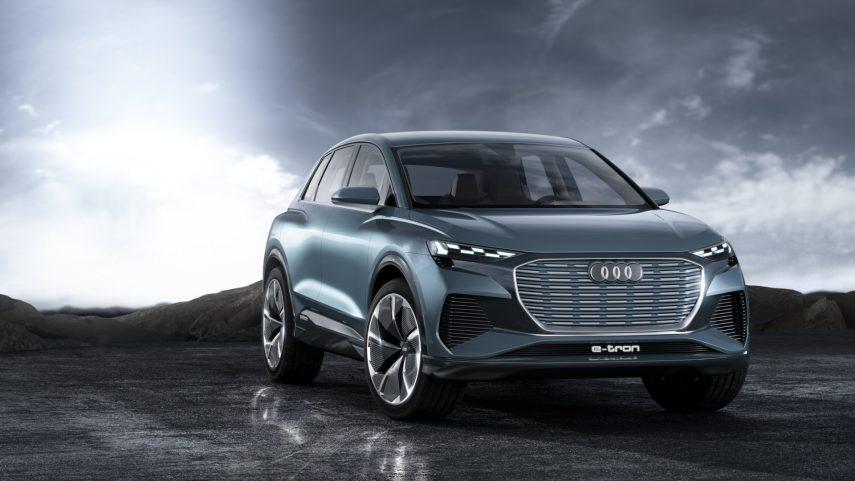 El Audi Q4 e-tron concept anticipa el futuro crossover de la marca