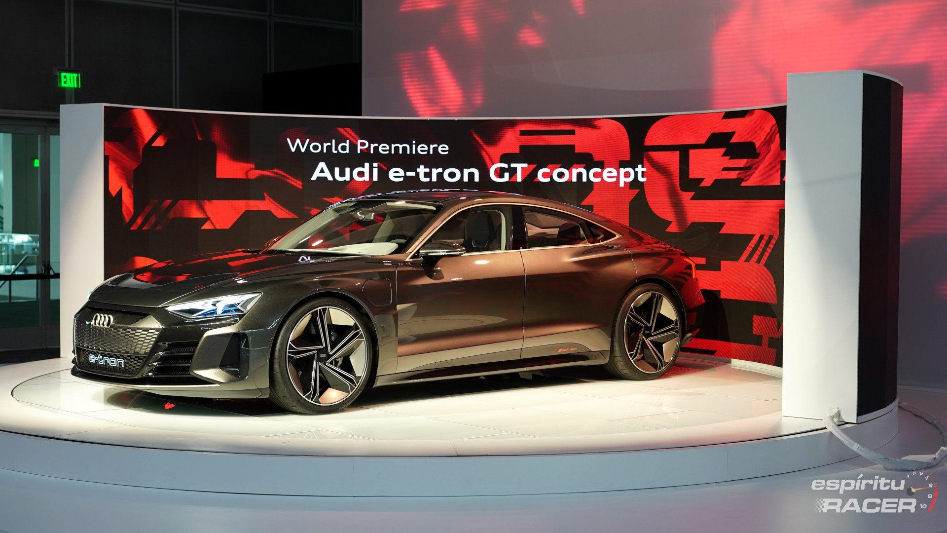 Audi e-tron GT Concept, el primo del Porsche Taycan