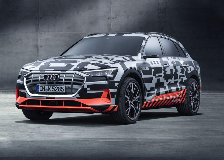 Audi e-tron prototype, el primer eléctrico puro de la marca