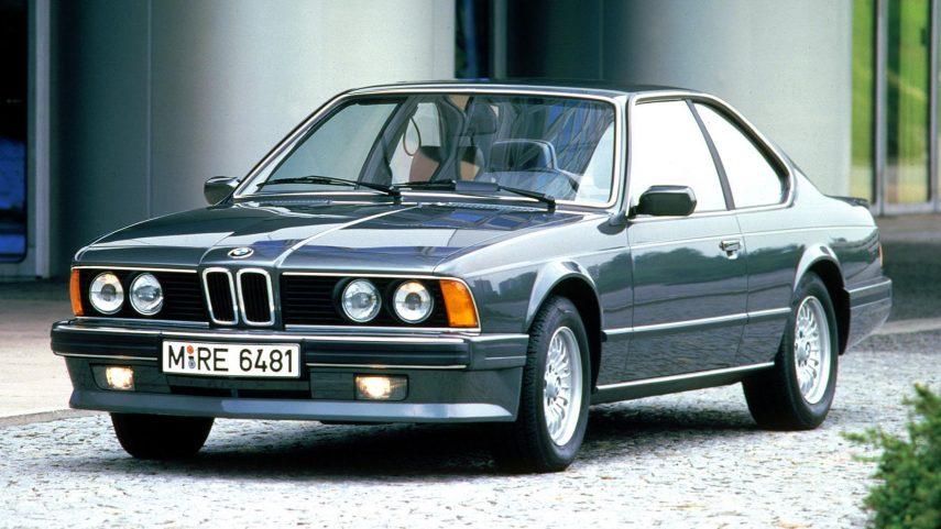 Coche del día: BMW 635CSi (E24)
