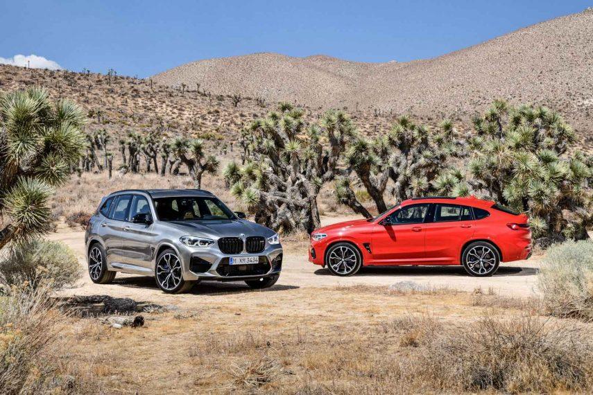 """Nuevos BMW X3 M y X4 M, con extra de potencia en la versión """"Competition"""""""