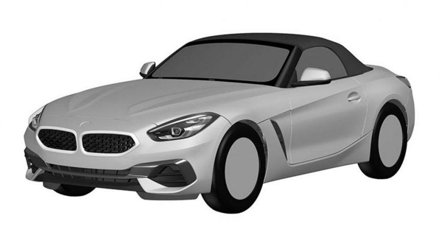 Se filtra el diseño final del BMW Z4