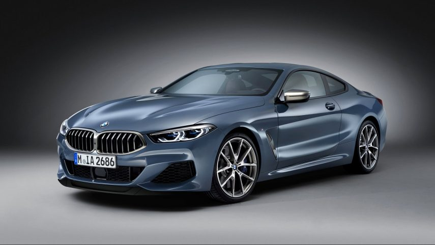 Con todos vosotros, el BMW serie 8 de producción