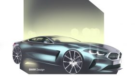 BMW Serie 8 Sketch 6