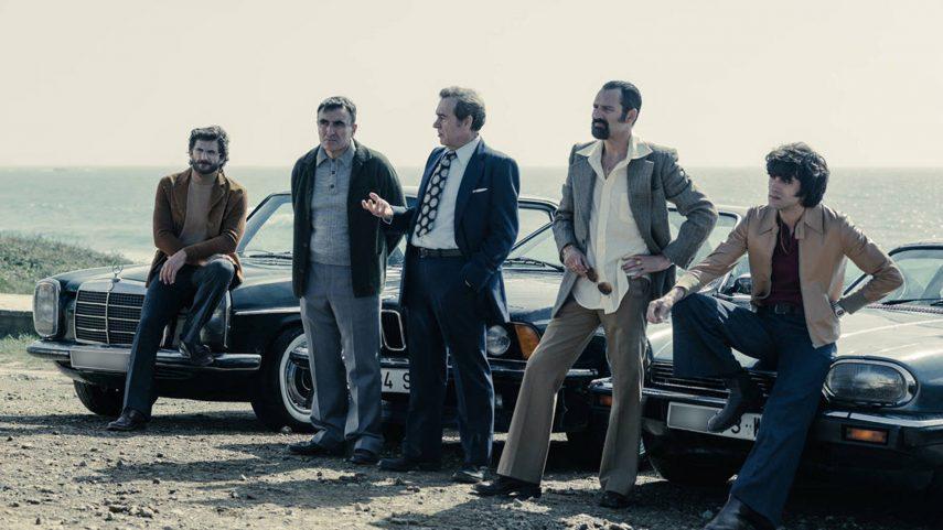 Los coches de la serie «Fariña»