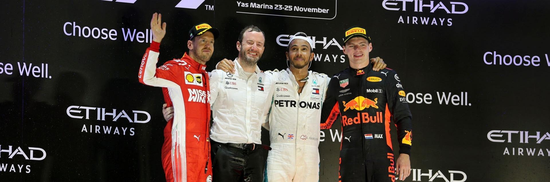 GP de Abu Dhabi: Hamilton vence y Alonso se despide de la Fórmula 1