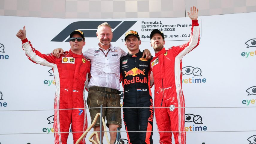 Verstappen y Red Bull vencen en la carrera de casa