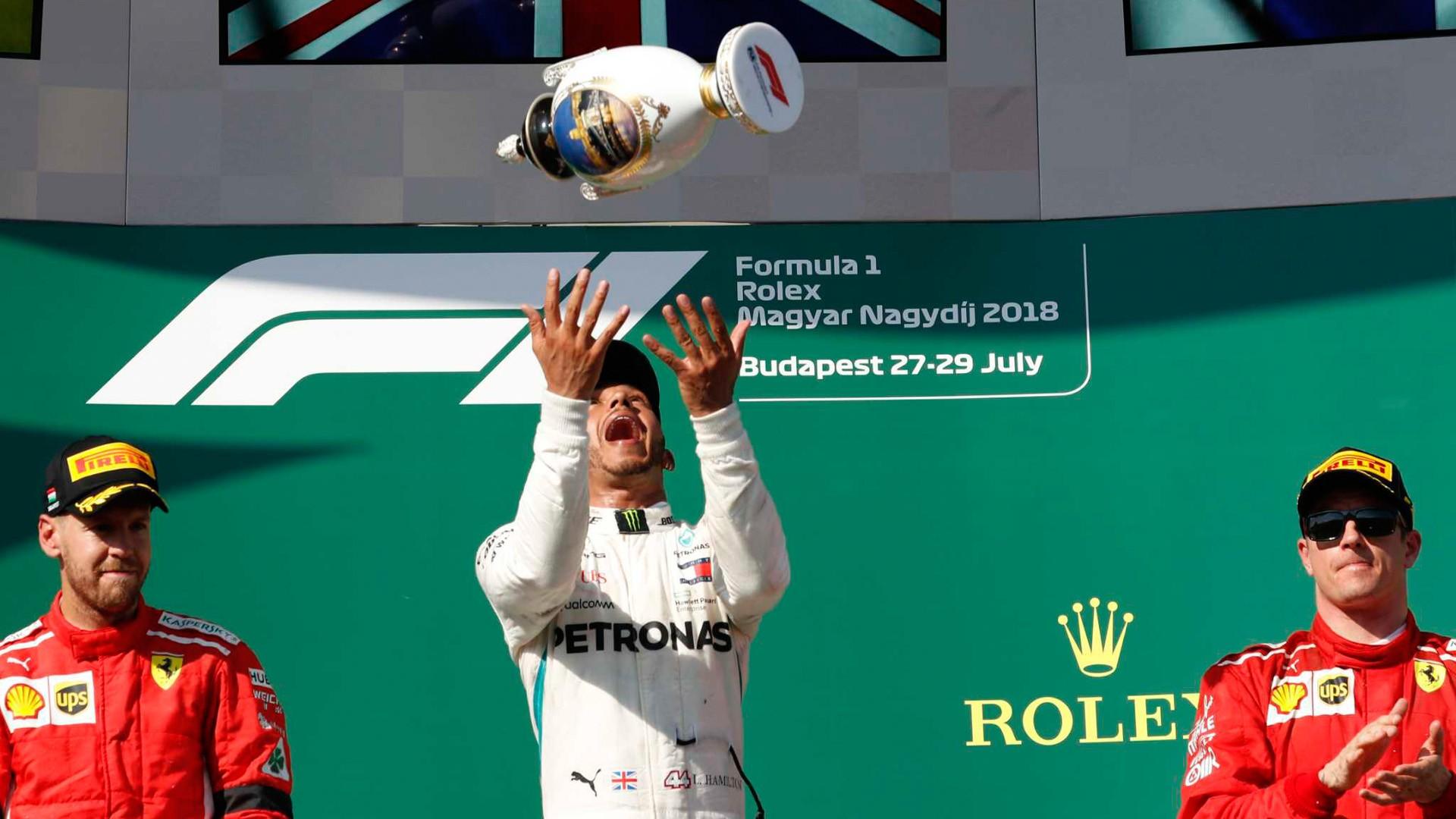 GP de Hungría: Hamilton y Mercedes siguen vivos en el campeonato