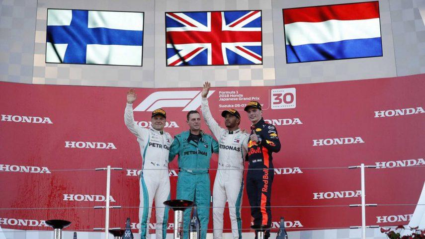 GP de Japón: Hamilton y Mercedes tienen el campeonato en sus manos