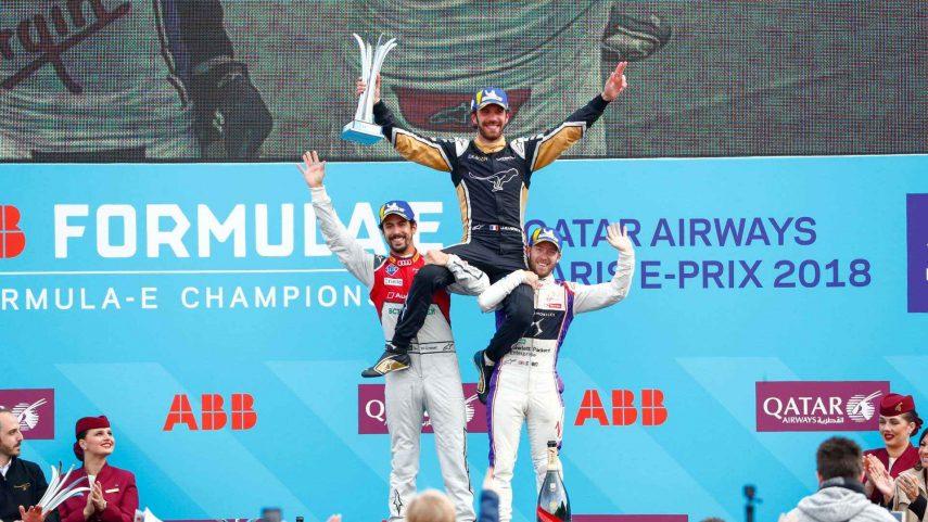 Vergne vence en el E-Prix de París