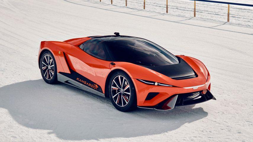 "GFG Style Kangaroo, el ""hyper SUV"" eléctrico"