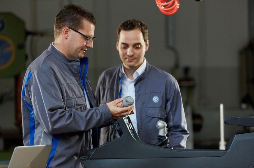 Volkswagen utilizará la impresora 3D HP Metal Jet en sus vehículos de serie