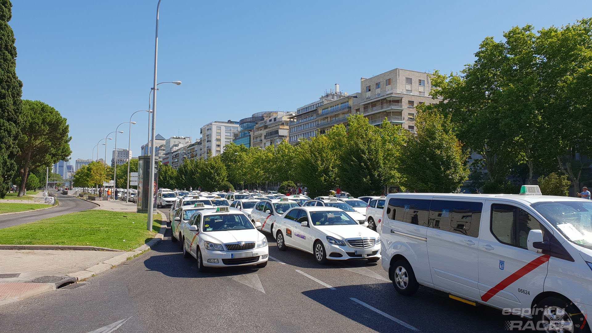Huelga Taxis 4