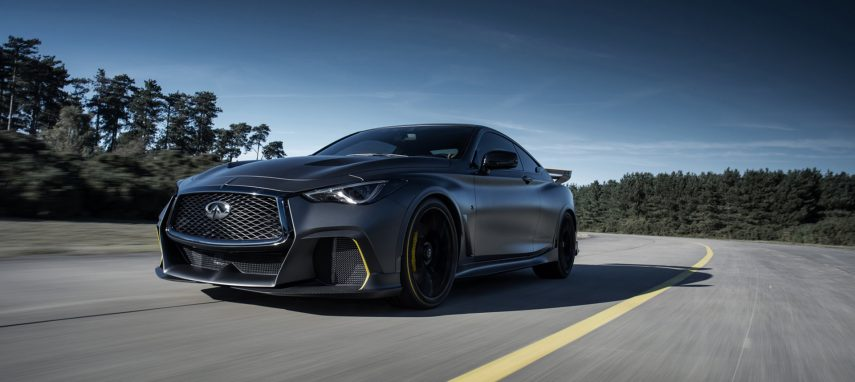 Infiniti Project Black S: de la Fórmula 1 a la carretera