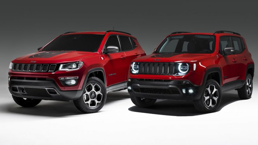 Nuevos Jeep Renegade y Compass Plug-in Hybrid
