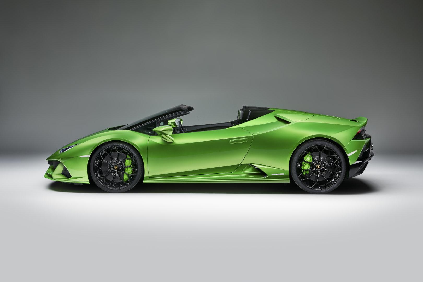 Lamborghini Huracan EVO Spyder, pasión a cielo abierto