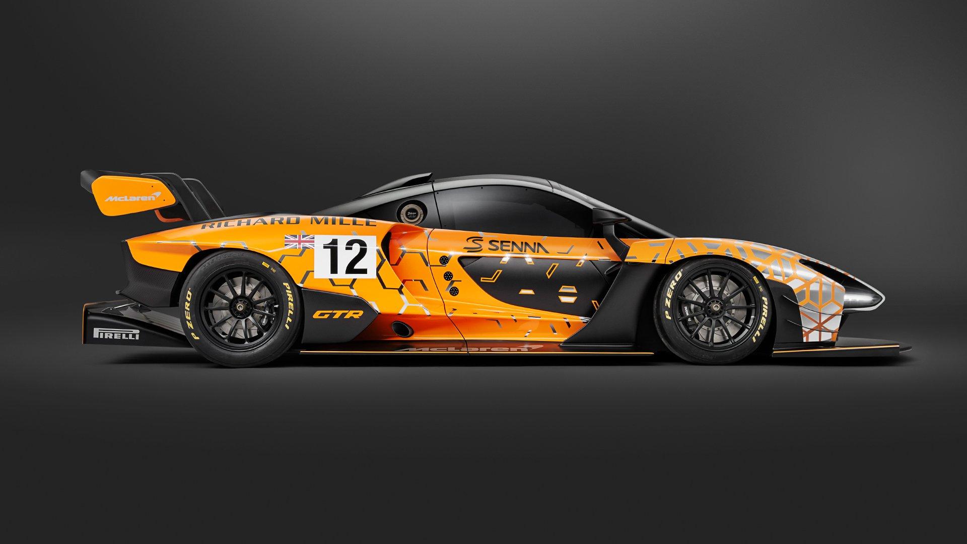 McLaren desvela los primeros datos del Senna GTR