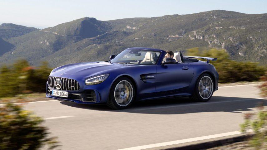 Ya es oficial el Mercedes-AMG GT R Roadster, limitado a 750 unidades