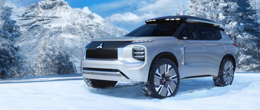 Mitsubishi Engelberg Tourer, un SUV para ir a cualquier parte