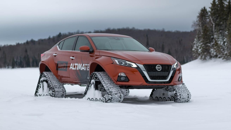 Nissan Altima-te AWD Concept: la mejor berlina para salir a esquiar