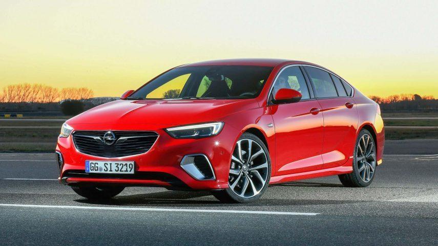 El nuevo Opel Insignia GSi es más rápido que el OPC