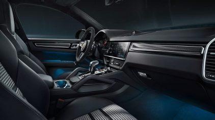 Porsche Cayenne Coupe Interior 09