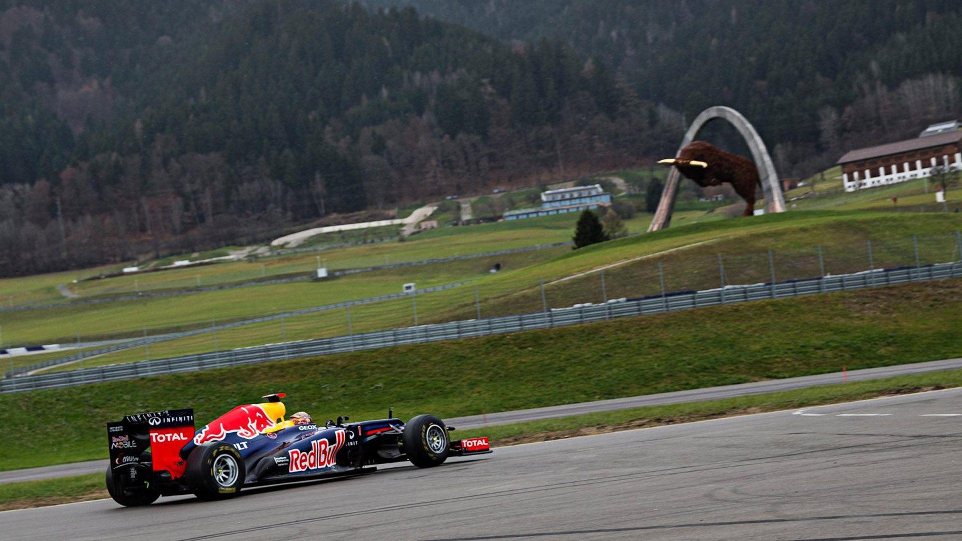La F1 llega al circuito de Red Bull