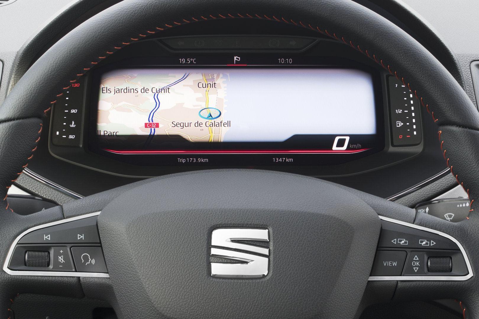 SEAT introduce el cuadro digital en el Ibiza y Arona