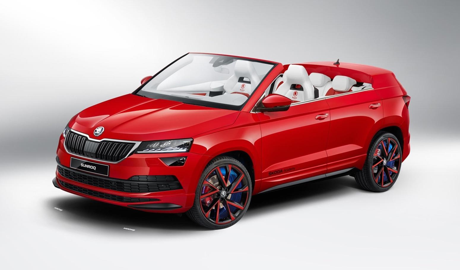 Škoda Sunroq: el Karoq descapotable conceptual que nadie esperaba