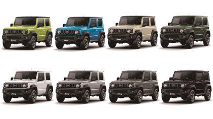 Suzuki Jimny Colores
