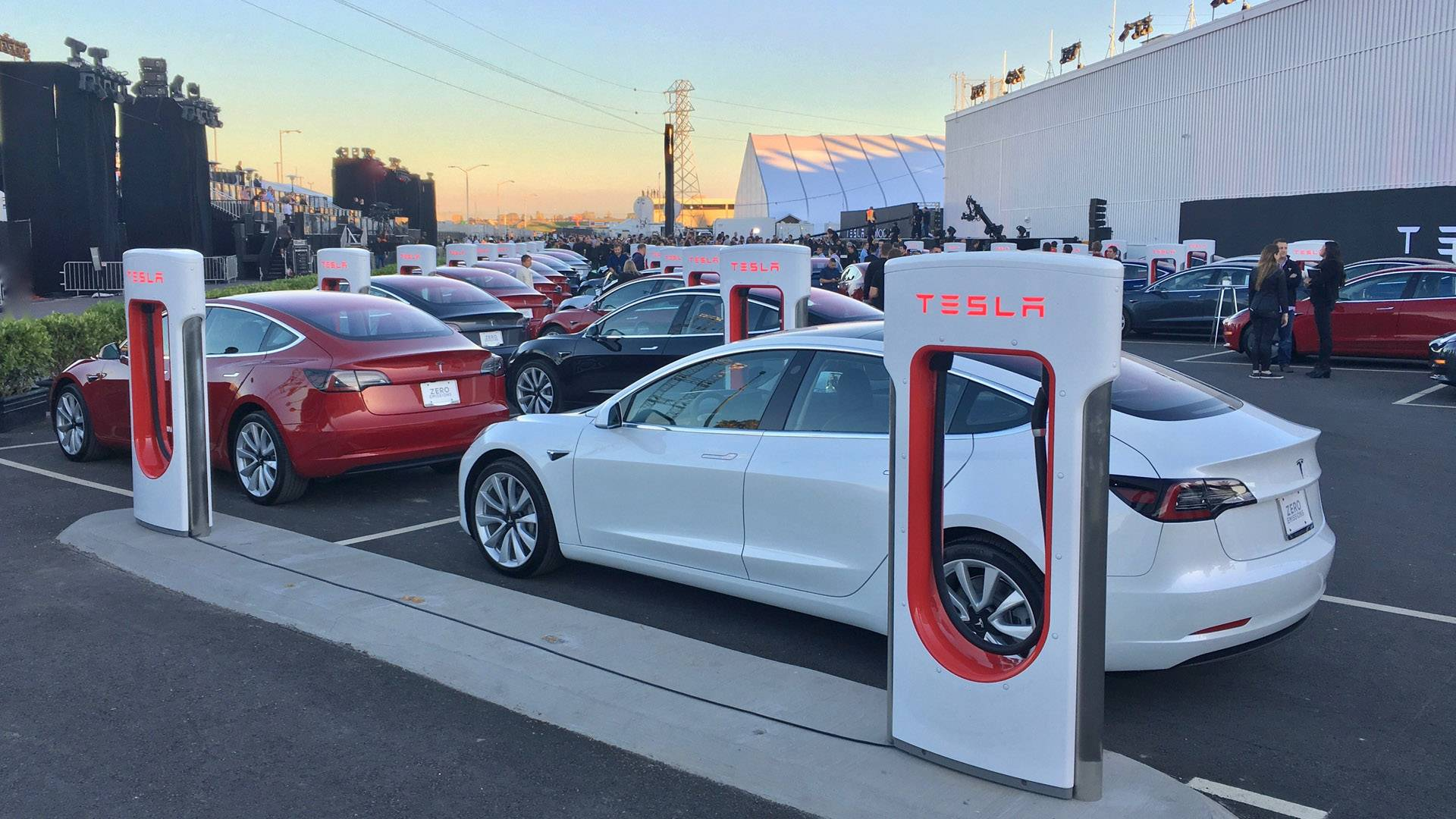 Tesla Model 3 Fabrica