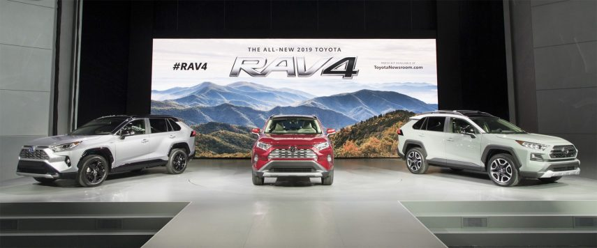 Ya conocemos el nuevo Toyota RAV4
