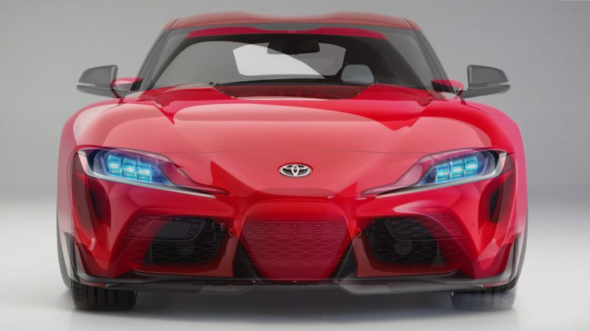 Toyota GR Supra frente a FT-1 Concept, una comparativa visual