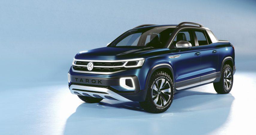 Nuevo Volkswagen Tarok Concept, la pickup urbana