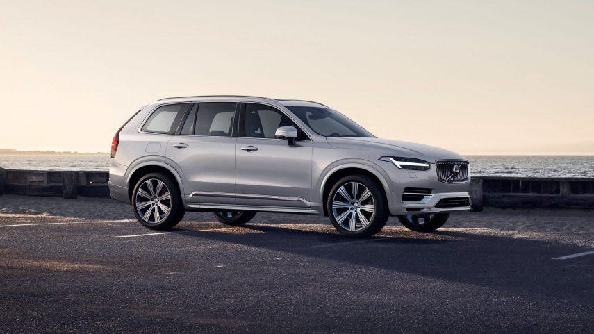 Nuevo Volvo XC90, ligeros retoques y nuevos motores con KERS