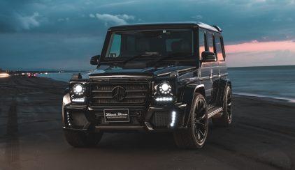 Wald Mercedes G Black Bison