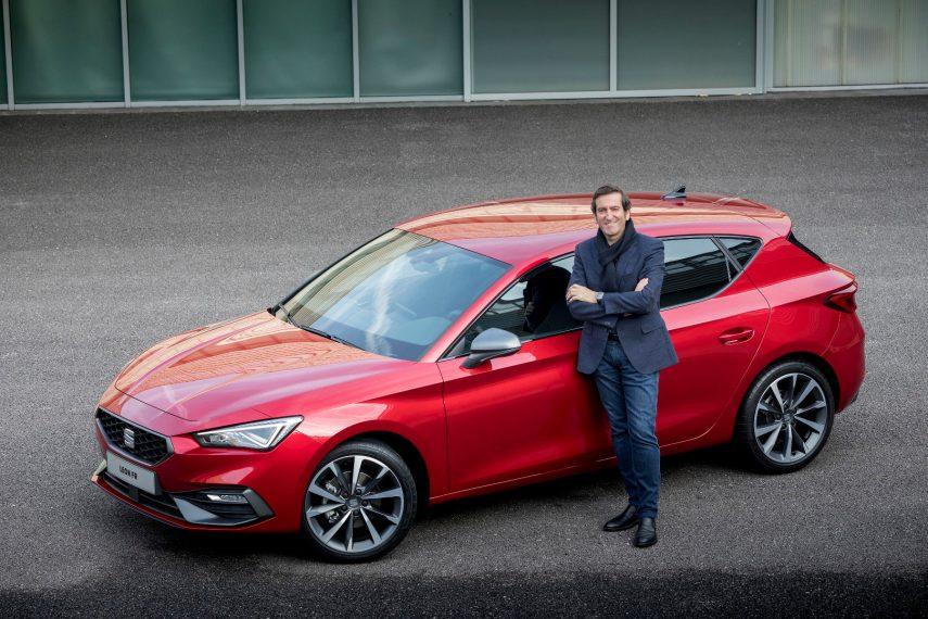 Alejandro Mesonero-Romanos, jefe de diseño de SEAT, se va en septiembre
