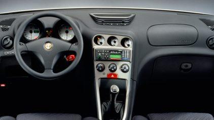 alfa romeo 156 interior 1997