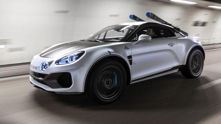 Alpine A110 SportsX Concept, sorpresa en el 35º Festival Internacional del Automóvil