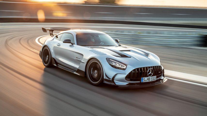 """Mercedes-AMG GT Black Series, el """"pata negra"""""""