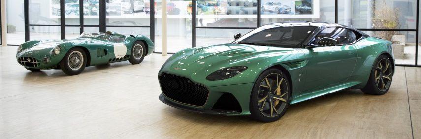 Aston Martin DBS 59, tributo a Le Mans