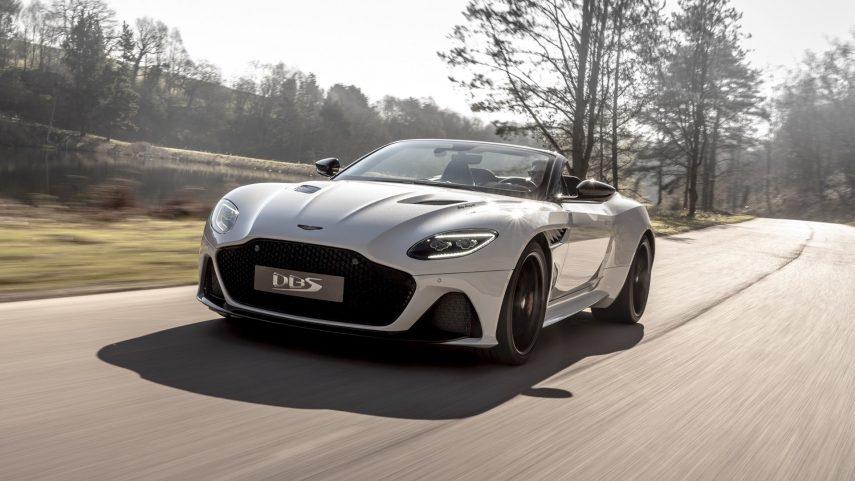 Aston Martin DBS Superleggera Volante, el descapotable más rápido de la historia de Gaydon