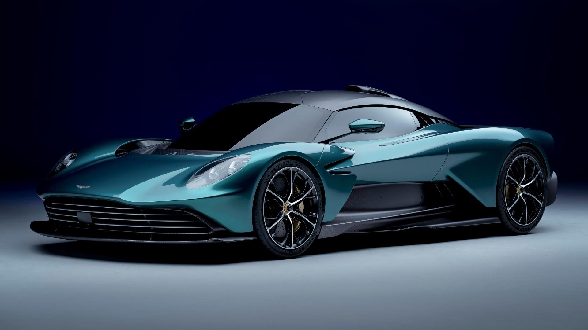 Así es el Aston Martin Valhalla de producción