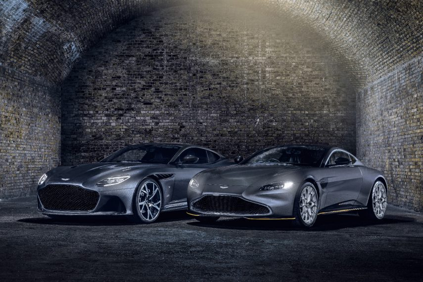 Aston Martin celebra las 25 películas de James Bond con dos modelos exclusivos